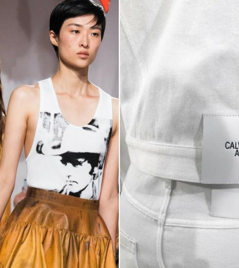 Quand la mode rencontre l'art: Andy Warhol pour Calvin Klein