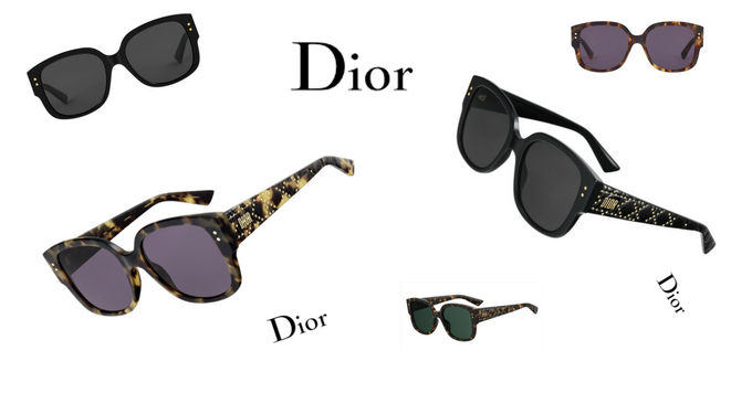 Crush of the day: les lunettes de soleil Dior LadyDior Studs 150*150