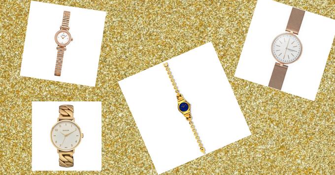 Golden hour: des montres dorées pour briller cet hiver 150*150