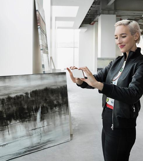 Verdict: acheter une œuvre d'art avec son smartphone