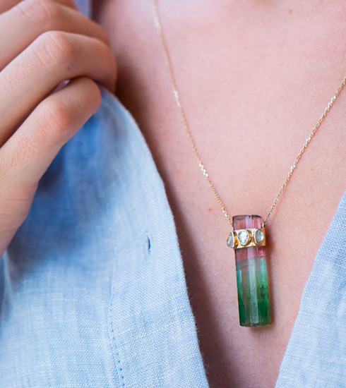 Crush of the day: les One of a Kind Gemstones de Celine D'aoust