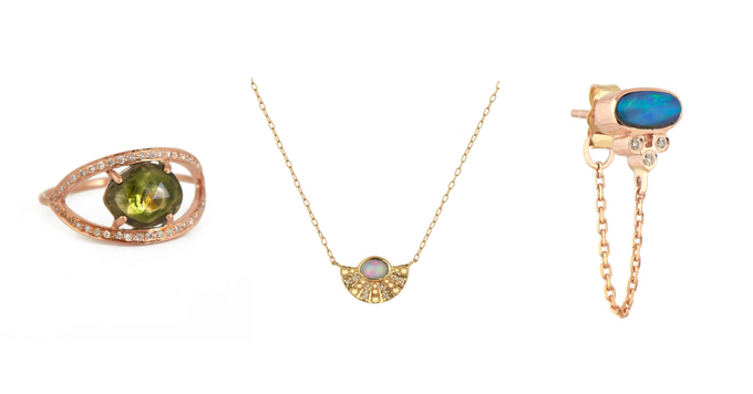 Crush of the day: les One of a Kind Gemstones de Celine D'aoust 150*150