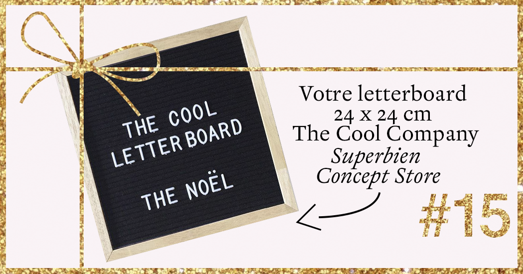 Superbien letterboard the cool company