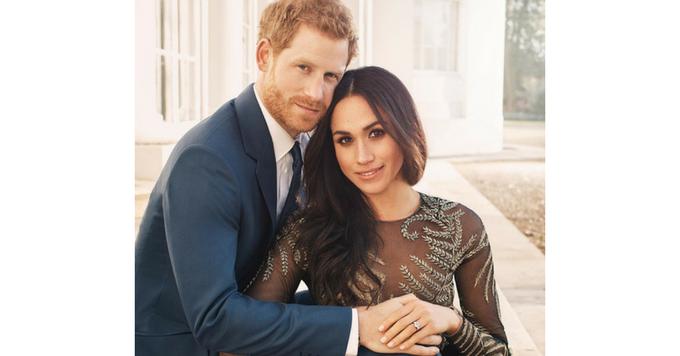News: les photos officielles de fiançailles du prince Harry et de Meghan Markle dévoilées 150*150