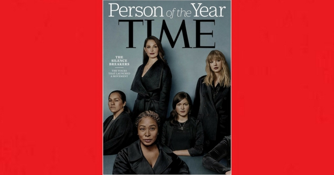 #MeToo récompensé par le Time: les briseuses de silence élues Person of the Year 150*150