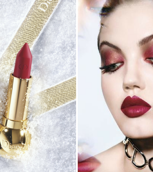 Crush of the day: le rouge à lèvres de fêtes Diorific Khôl de Dior