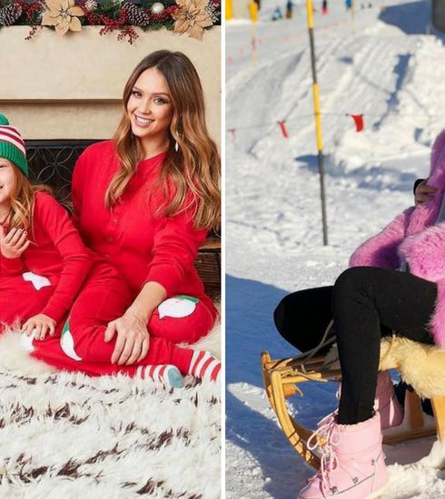 En images: c'était comment Noël chez les stars?