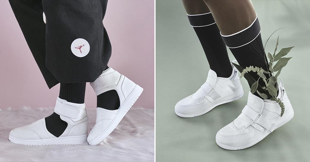 Deux baskets iconiques de Nike mises entre les mains de 14 femmes