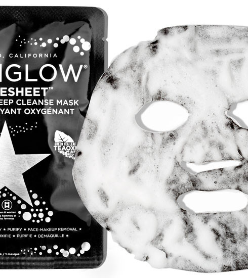 Crush of the day: Bubblesheet, le masque 3D de GlamGlow