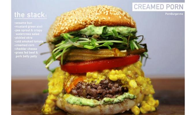 foodporn burger
