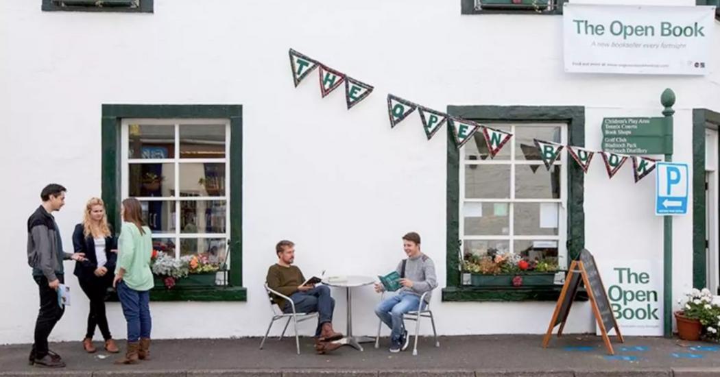 Un Airbnb vous propose de tenir une librairie en Écosse