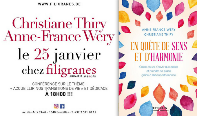 Conférence: Accueillir nos transitions de vie chez Filigranes - 1