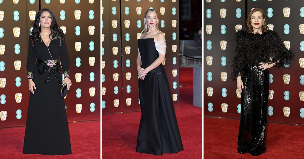BAFTA 2018: les plus beaux looks du tapis rouge