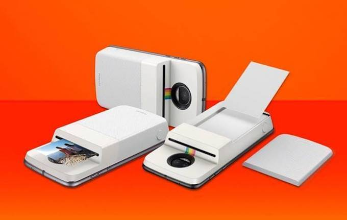 Moto Mods Polaroid Insta-share Printer