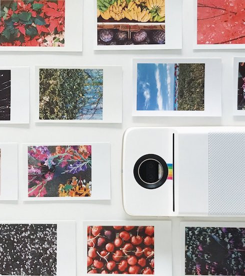 Verdict: le Polaroid Insta-Share Printer Moto Mod