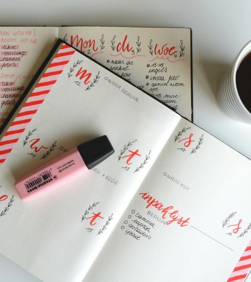 Organisation : nos conseils pour commencer un Bullet Journal