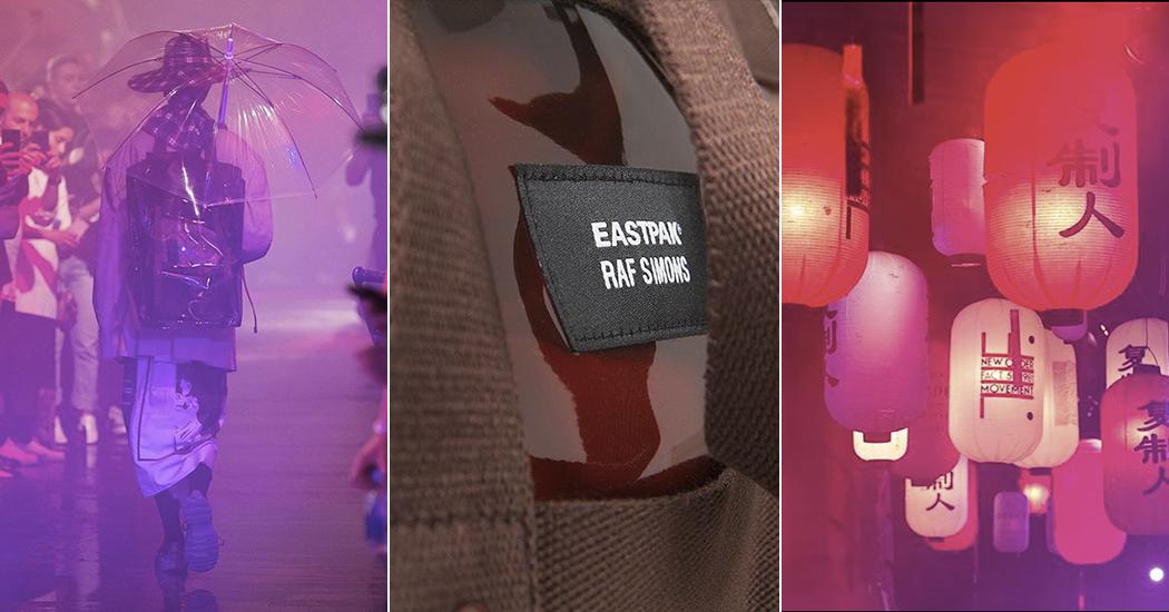 Eastpak x Raf Simons: des sacs aux accents asiatiques et futuristes pour leur sixième collection