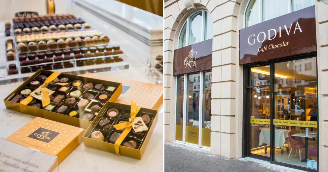 Godiva lance son nouveau concept de «Café Chocolat»