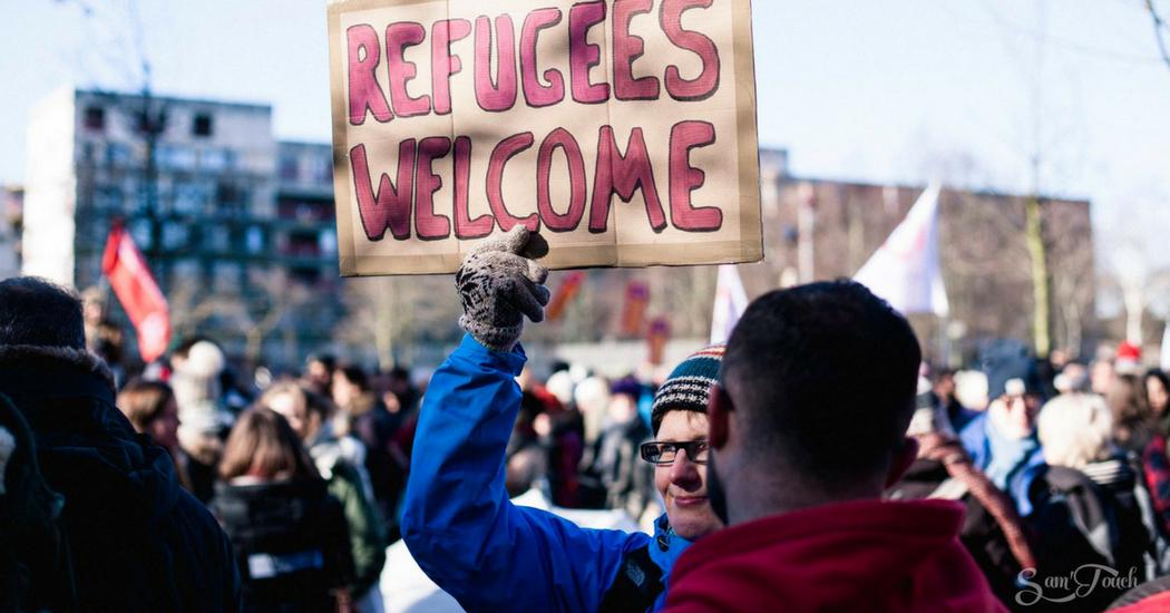 Vague de froid et de solidarité sur Bruxelles: 10.000 personnes manifestent pour plus d'humanité dans la politique migratoire