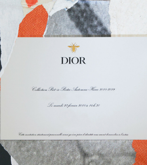 Le défilé Dior automne-hiver 2018-2019 en live, c'est dès 14h30 et c'est ici!