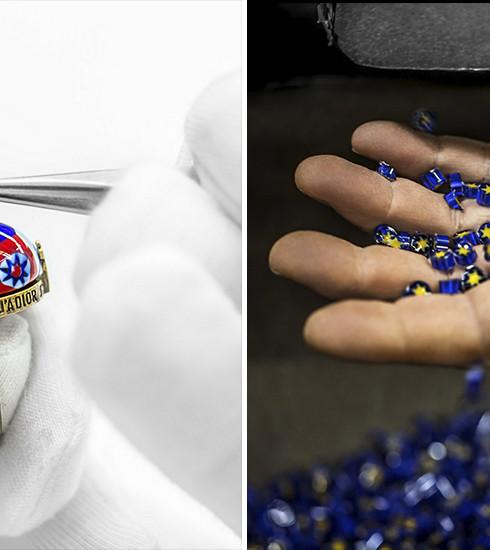 Collection de bijoux D-Murrine: tout le savoir-faire de la maison Dior