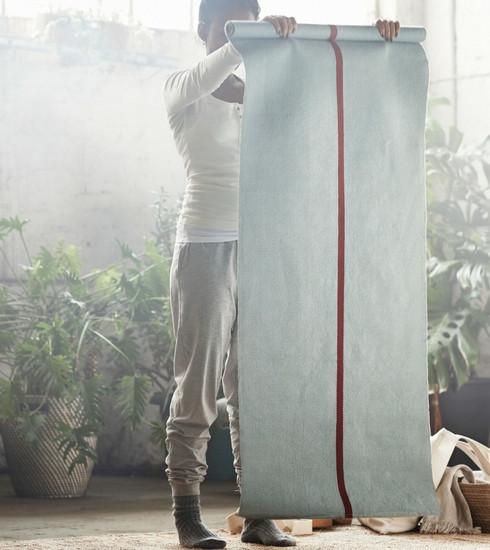 Des tapis de yoga chez Ikea? Découvrez leur collection dédiée à la méditation