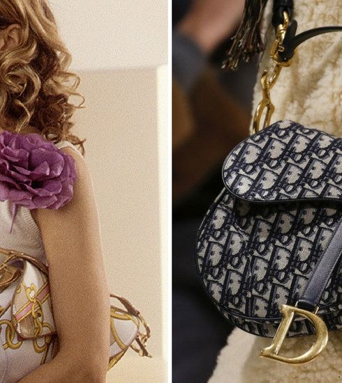 Le fameux Saddle Bag de Dior fait son grand retour