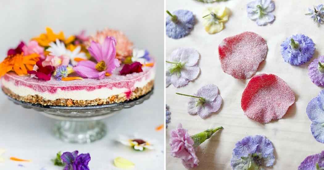 Food : 6 recettes avec des fleurs dans nos assiettes
