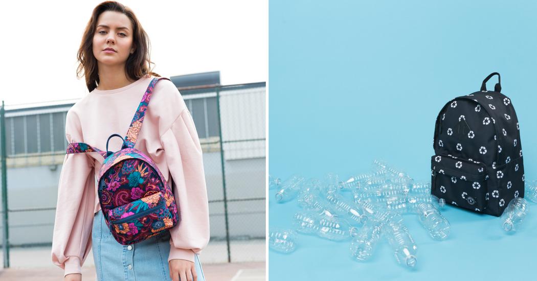 Crush of the day: les sacs Parkland en bouteilles recyclées