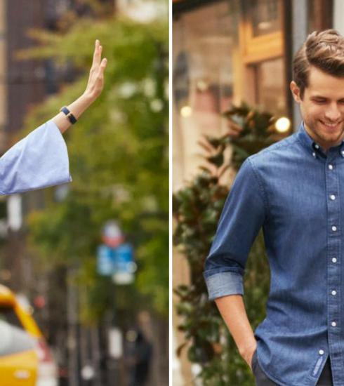 GANT Beacons Project: des chemises composées en partie de plastique surcyclé