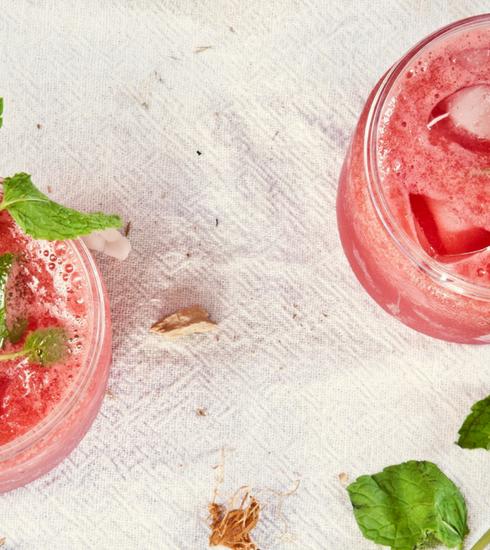Trois cocktails au goût de printemps