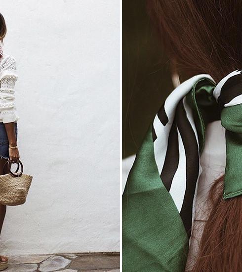 Coiffure: cet été le foulard se portera dans nos cheveux