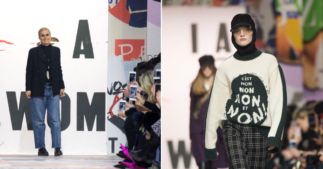 Fashion Week de Paris: le pull féministe et engagé de Dior