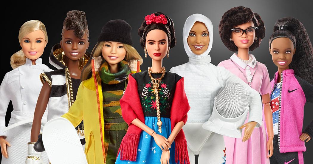 Mattel crée une nouvelle collection de Barbie à l'effigie de femmes inspirantes