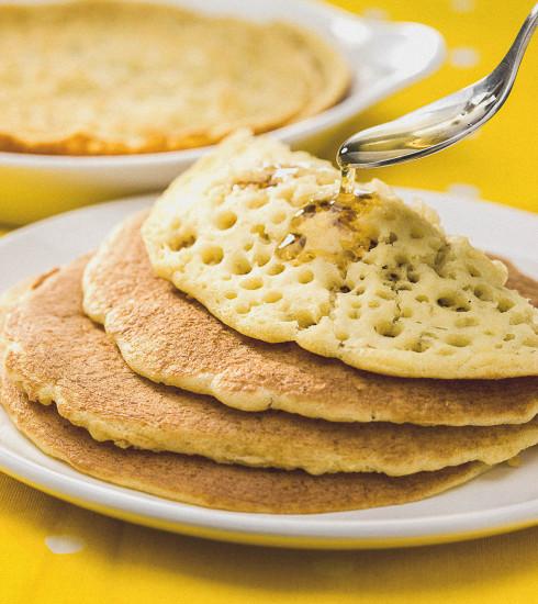 Un goûter gourmand à souhait avec des baghrirs marocains