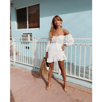 Look: comment porter la robe blanche, incontournable pour cet été 150*150