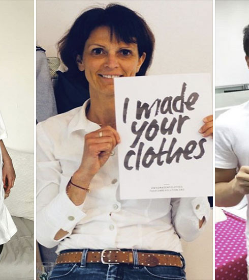 #WhoMadeMyClothes, le hashtag qui permet de prendre part à la fashion revolution