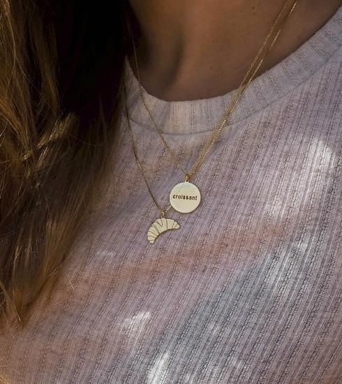 Tentez votre chance et remportez un collier Croissant doré de chez JUKSEREI !