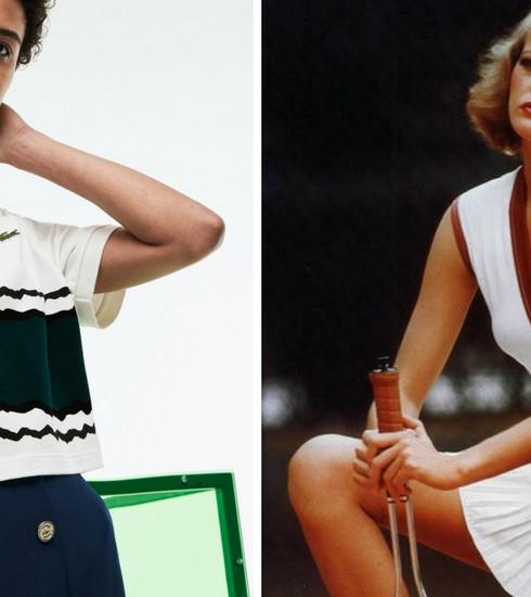 Crush of the day: Lacoste fête son 85ème anniversaire avec une collection vintage