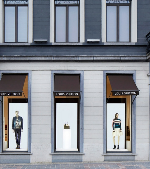 Bruxelles: découverte du nouveau pop-up store Louis Vuitton