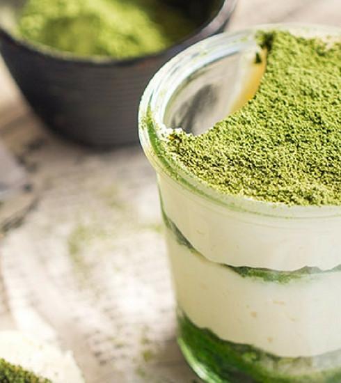 La vie en green : 5 recettes au thé matcha
