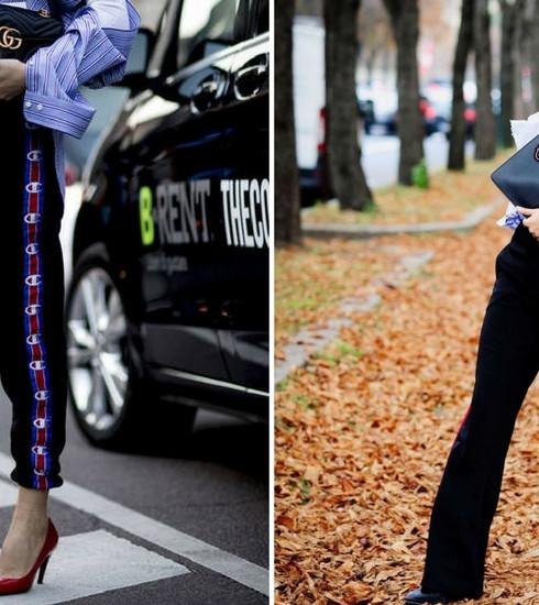 Mode: le pantalon de survêtement à bandes a de beaux jours devant lui