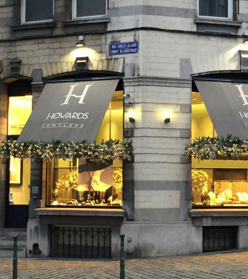Réouverture de la joaillerie Howards à Bruxelles