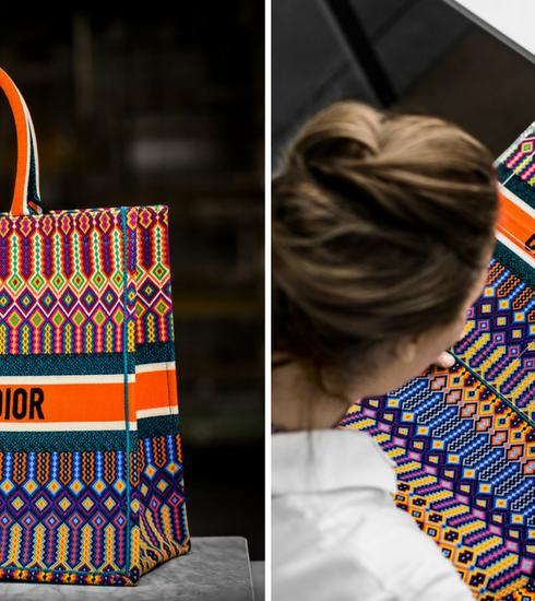 Le savoir-faire du sac Book Tote de Dior dévoilé dans une vidéo inédite