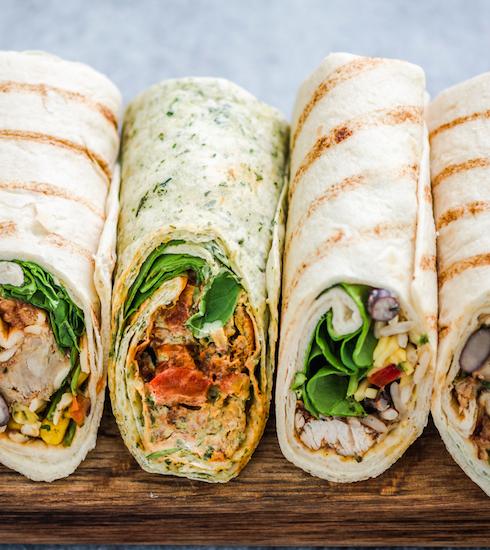 Idée de lunch : 3 délicieuses recettes de wraps