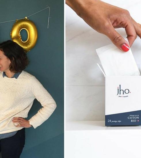 Jho: des tampons et des serviettes bio et éthiques!