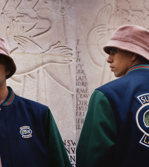 Crush of the day: la collection capsule LACOSTE x SUPREME