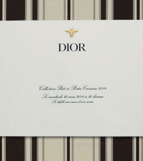 Livestream: le défilé Croisière de Dior au Domaine de Chantilly comme si vous y étiez