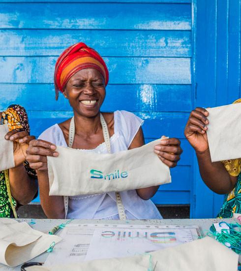 Kisany et Sisley s'engagent pour les femmes du Congo