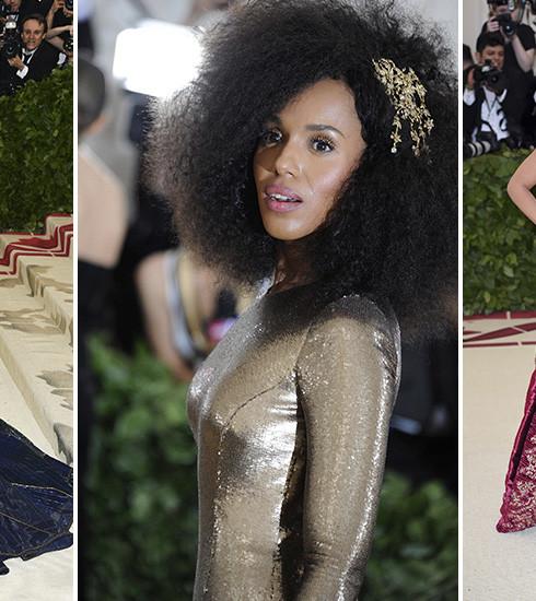 Met Gala 2018: les plus beaux looks du tapis rouge